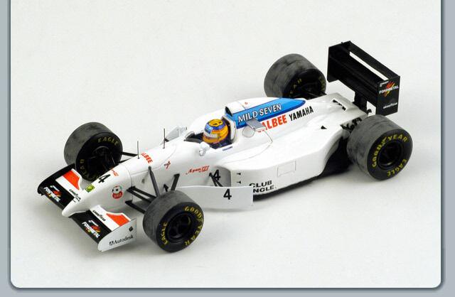 SPARK S1597 TYRRELL 022 N°4 3ÈME GP ESPAGNE 1994 MARK BLUNDELL  1/43 | Shopping Online