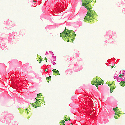 Cotton Satin 100% Bed Wall Covering Oriental Rose Red