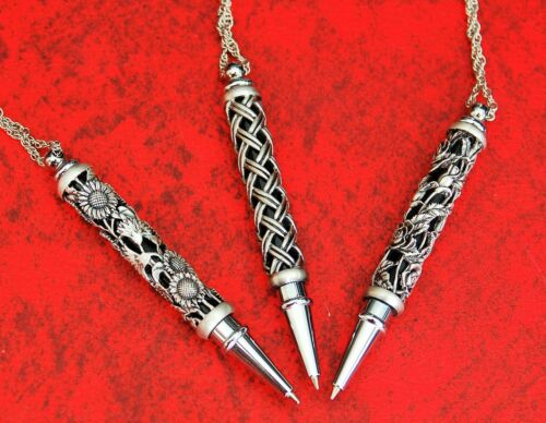 Mini Rollerball with Necklace Chain