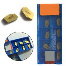 10 Pcs KORLOY TPMR 321F NC330 99-56970 Lathe Carbide Inserts Tools New Gold