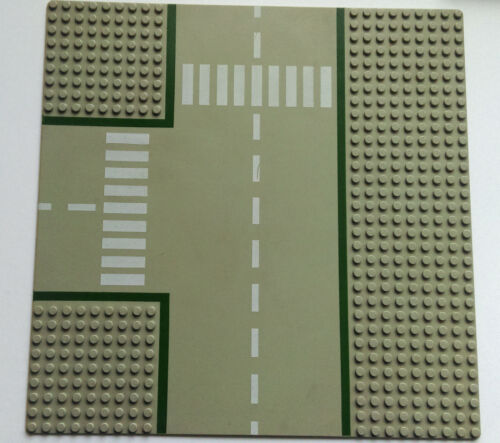 Vintage Lego BasePlate Board Grey Road 1970/'s//1980/'s Type 1