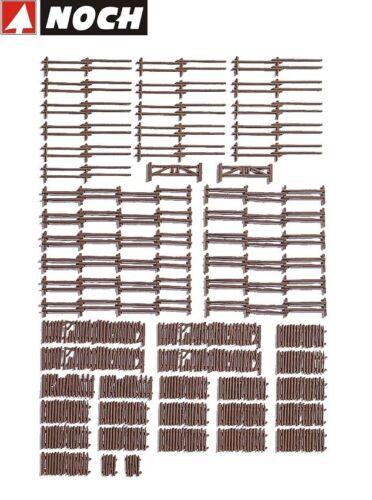 NEU NOCH H0 13095 Großpackung Ländliche Zäune OVP