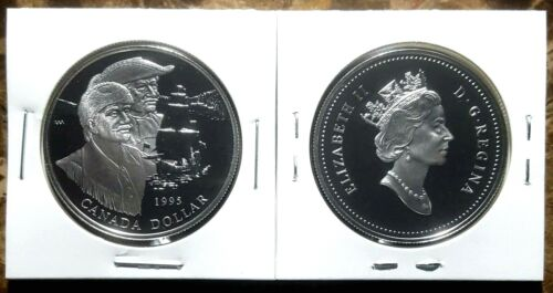 Canada 1995 Hudson/'s Bay Company Proof Gem UNC Silver Dollar!!