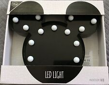 DISNEY LARGE MICKEY MOUSE HEAD LED LIGHT LAMP KIDS BEDROOM DECOR PARTY CUTE GIFT