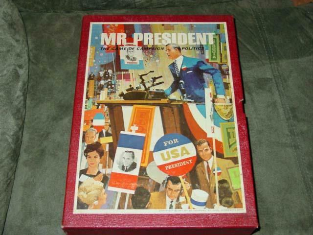 3M 1971-Señor Presidente-juego de campaña presidencial estadounidense la política & elecciones