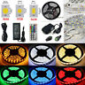 16.4Ft 3528 5050 Flexible 300-LED Strip Light Control US Power Supply Waterproof