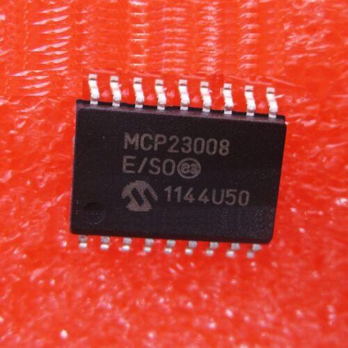 2PCS MCP23008-E//SO MICROCHIP IC I//O EXPANDER I2C 8B SOIC-18  S