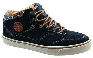 1c5d5bb78e Vans Off The Wall Buffalo Boot MTE Lace Up Blue Graphite Mens Boots ...