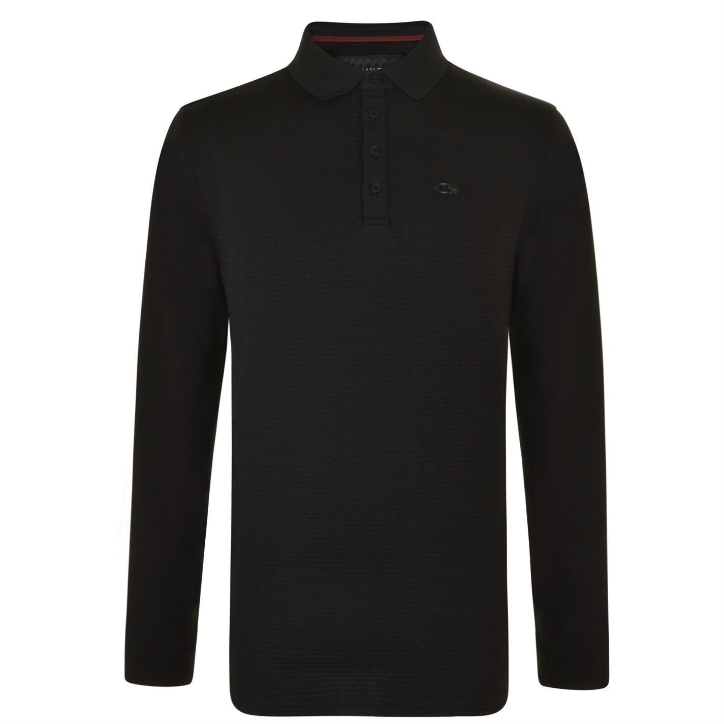 Cruyff Long Sleeved Polo Shirt UK XXL REF C1996+