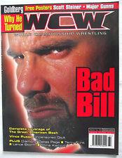 Wcw / Wwe Magazine / número / 64 / Agosto 2000 / Goldberg / Scott stiener