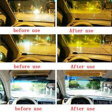 Real HD Car Anti-Glare Shade Goggle Day &Night Vision Driving Mirror Sun Visors