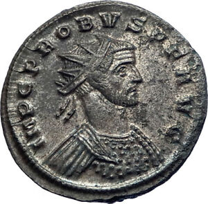 PROBUS-280AD-Authentic-Genuine-Silvered-Ancient-Roman-Coin-PAX-Peace-i73391