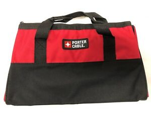 Details About New Porter Cable Pccbag4 Heavy Duty Mouth Tool Bag Contractor