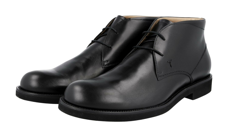 Luxury TOD'S DERBY schnuer shoes xxm0wp00d80d90b999 Black NEW 10 44 44,5
