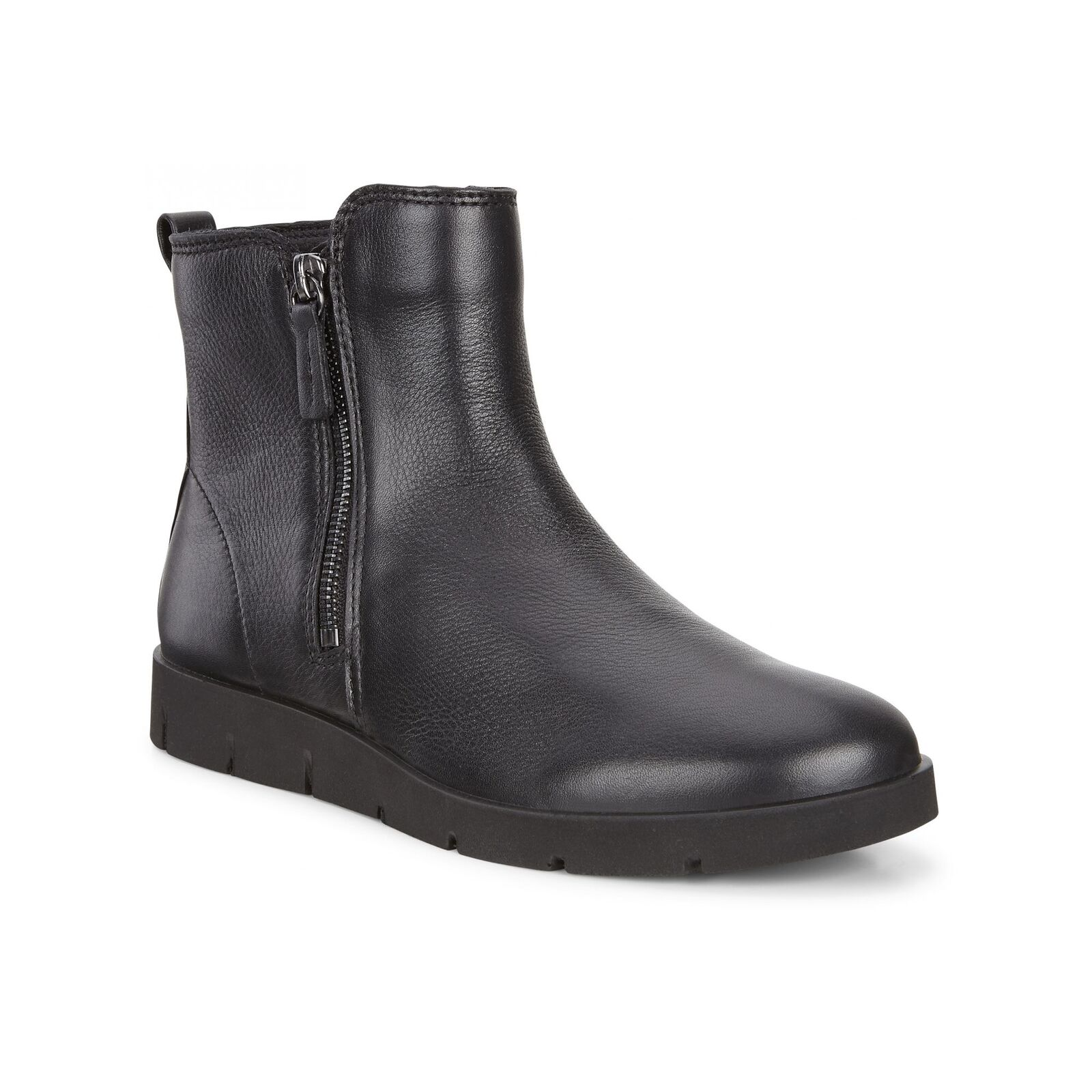 Ecco Bella Bota señoras para mujer de cuero cuero cuero botas al Tobillo Informales cómoda con cremallera negra  descuento