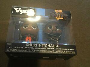 Funko-Vynl-Vinyl-Collectibles-Movie-Black-Panther-Shuri-amp-T-039-Challa-NEW-MIB
