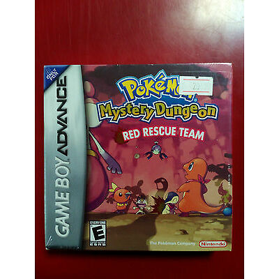 Pokemon: Mystery Dungeon - Red Rescue Team (GameBoy Advanced) BRAND NEW SEALED