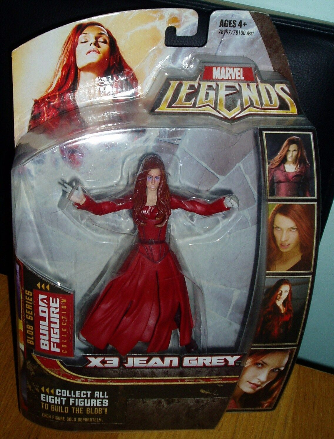 Marvel Legends JEAN GREY Action Figure BLOB Series with Part 4 Right Arm BNIB