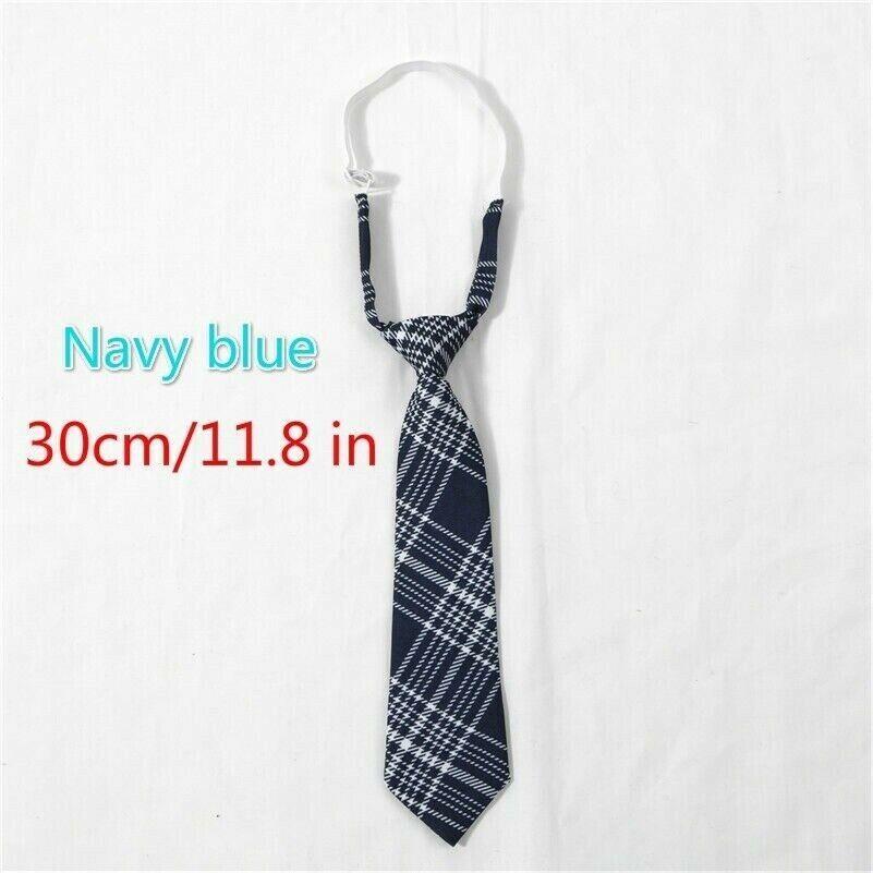 Japanese Girls Check Necktie Tie JK School Uniform Preppy Accessory Cosplay SPW