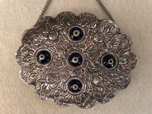 Vintage 925 Sterling Turkish Wedding Mirror