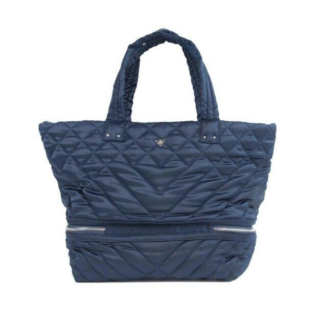 c1008965ee Sam Edelman Arianna Quilted Puffer Tote Handbag Posieden Blue for sale  online