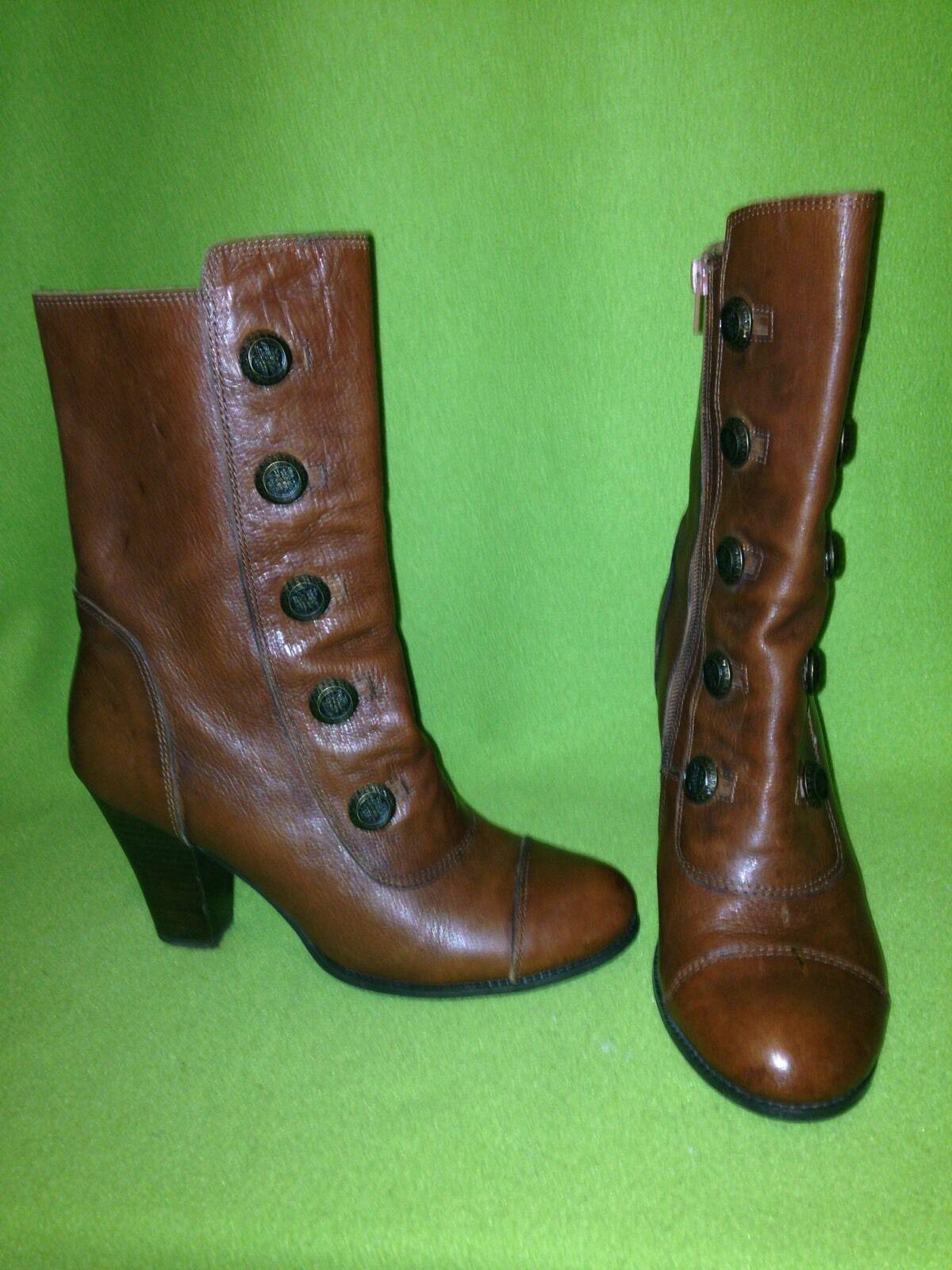 Gentleman/Lady Brown Miz Mooz Hendrix Boots 8 Easy to use Online export store Very practical