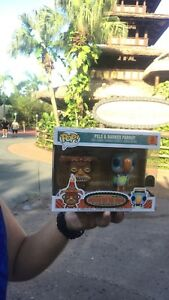 Funko Pop Disney Park Exclusive Tiki Room And Barker