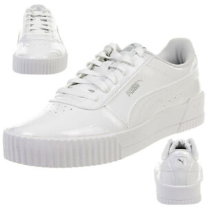Details about Puma Cabasag P Women's Sneakers High Gloss White 370912 02