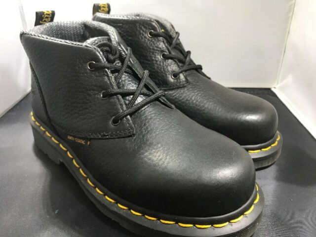d7d3631382628 Dr Martens Womens Izzy black steel toe boots size 6 uk4   14699001 ( 596)