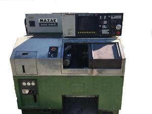 CNC-Drehmaschine-Mazak-QT8U
