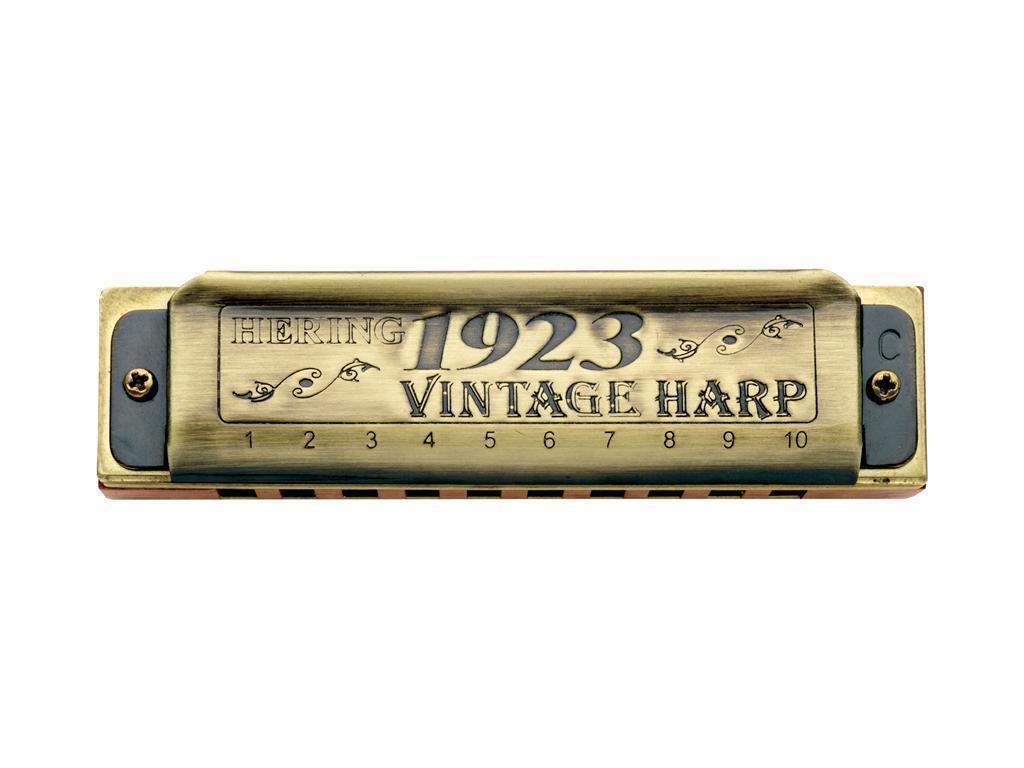HARP HARMONICA HERING Blau'S1923 VINTAGE 1020  Key  Ab NEW Blau JAZZ MUSIC SOUND