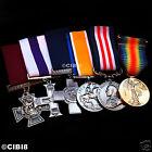BRITISH MILITARY MEDAL GROUP SET 6x AWARDS   RAF NAVY RM SBS PARA ARMY   WW1 WW2