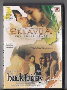 Eklavya Black Friday 2 In 1 Bollywood Movies Dvd Brand New Ebay