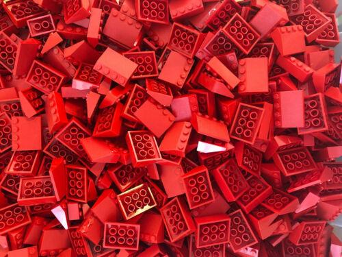 Lego 100 Dachsteine Dachziegel rot City Haus verschiedene Größen
