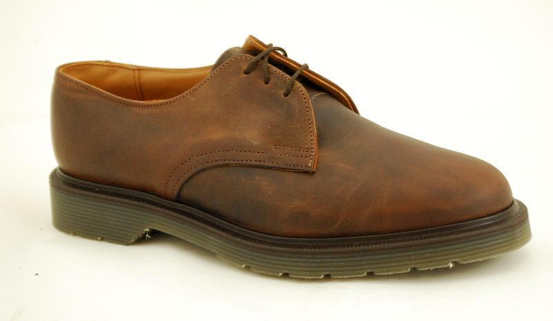 Solovair NPS shoes Made in England 3 Eye Atztec shoes S030-L3995AZCH