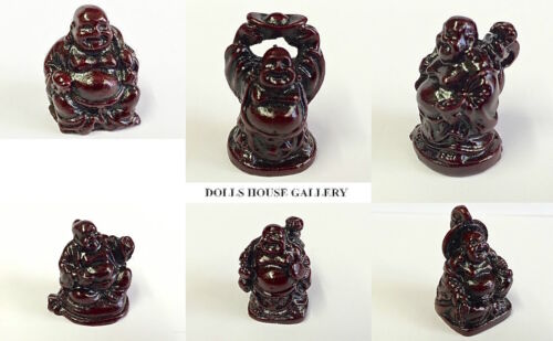DOLLS HOUSE miniature FULLSET selezionare N0.7 Buddha la scelta di 6 da giardino statue