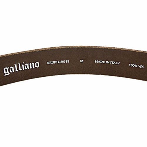 John Galliano cintura Galliano belt Galliano