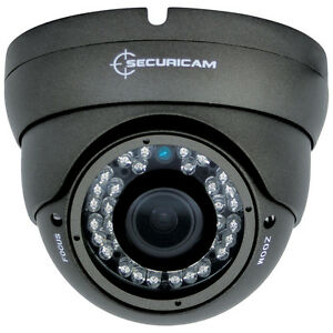 SECURICAM® 720P HD AHD VARIFOCAL CCTV SECURITY DOME CAMERA OUTDOOR 2.8 - 12mm