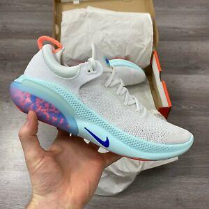 Nike-JOYRIDE-eseguire-Flyknit-Scarpe-Da-Ginnastica-Corsa-Bianco-Tg-UK-7-US-8-EUR-41