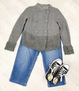 Mint-Velvet-Cardigan-Jersey-chunky-Grey-Long-Sleeve-Blogger-Sz-10