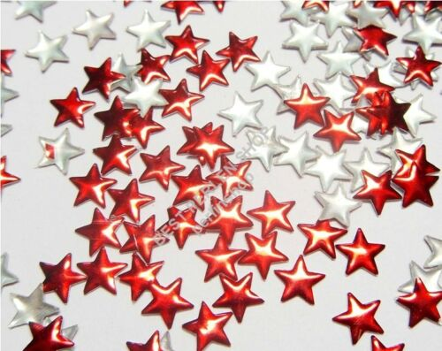 Nailhead Cintres Rivets Métal HotFix 500 Pièce Best étoile rouge 8 mm 666