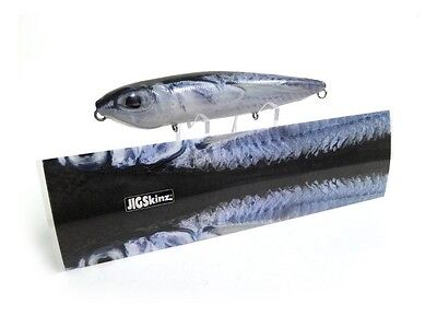 JIGSKINZ FISHING LURE REFURBISH / RETRO-FIT OR CUSTOMIZE BALLYHOO 4 PACK    eBay