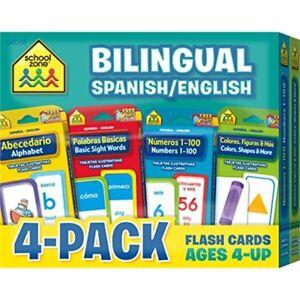 La Fourniture Flash Cards 4-pack-bilingue-al Fr-fr Afficher Le Titre D'origine