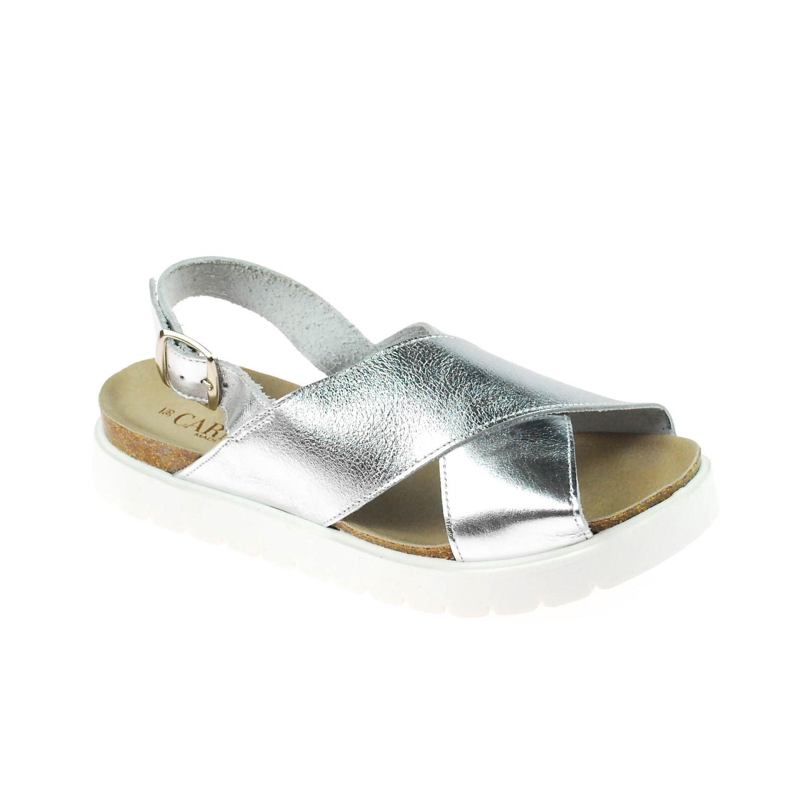 Carmela Femmes Sandale cuir argent