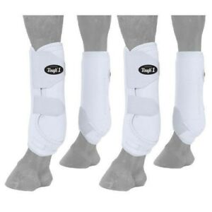 Tough-1-Extreme-Vented-Sport-Boots-with-Protective-Suspensory-Sling-Set-of-Four