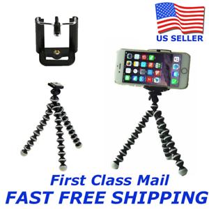Mini Flexible Octopus Tripod Bracket Holder Mount for Cell Phones Camera iPhone