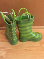 Kids' Circo Gardening Boots Caterpillar Green Toddler 9/10