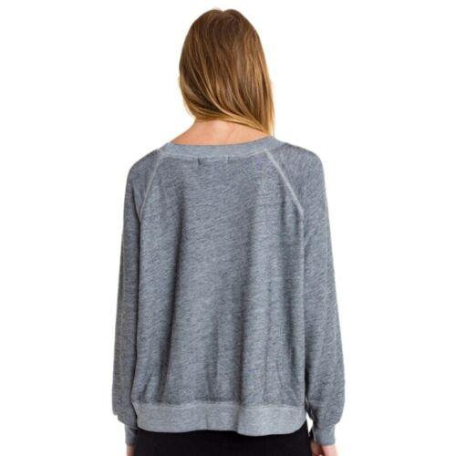 "/""GASP/"" Casual Grey Sweatshirts O-Neck Long Sleeve"