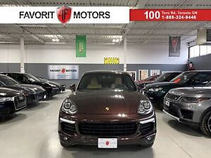 2015 Porsche Cayenne S AWD|NAV|CREAM LEATHER|HEATED SEATS|BACKUPCAM|+++