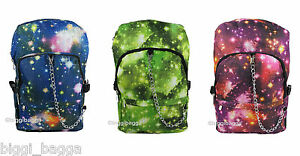 SPACE-COSMOS-RUCKSACK-Backpack-Galaxy-Star-Universe-Emo-Goth-School-College-Bag